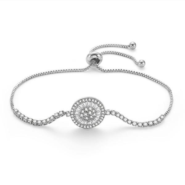 Alloy Simple Geometric bracelet  (66186023) NHLP1127-66186023