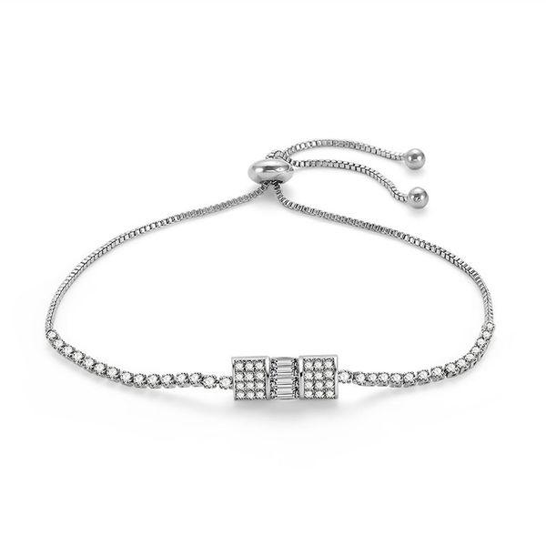 Alloy Simple Geometric bracelet  (66186033) NHLP1135-66186033