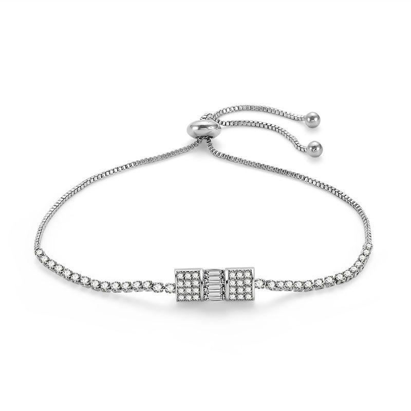 Alloy Simple Geometric bracelet  66186033 NHLP113566186033