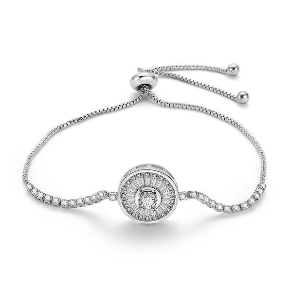 Alloy Simple Geometric bracelet  (66186025) NHLP1137-66186025