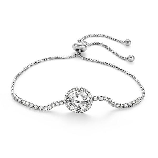 Alloy Simple Geometric bracelet  (66186019) NHLP1136-66186019