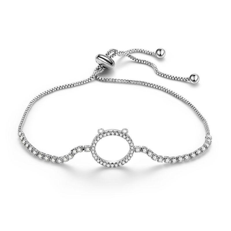 Alloy Simple Geometric bracelet  (66186016) NHLP1140-66186016