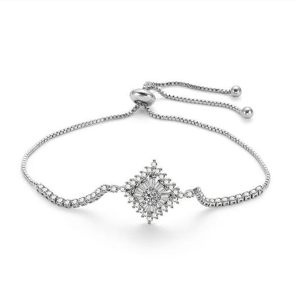 Alloy Simple Geometric bracelet  (66186035) NHLP1139-66186035