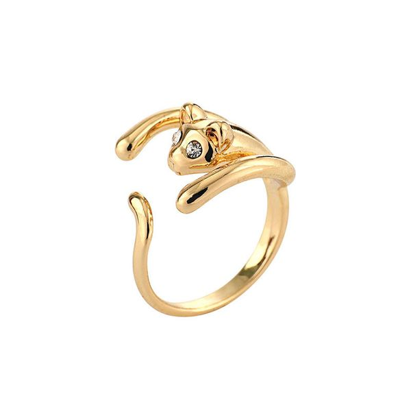 Alloy Fashion Animal Ring  (R0143 mouse alloy) NHNMD4646-R0143-mouse-alloy