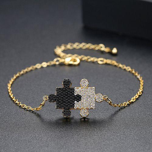 Alloy Korea Geometric bracelet  (18k) NHTM0312-18k