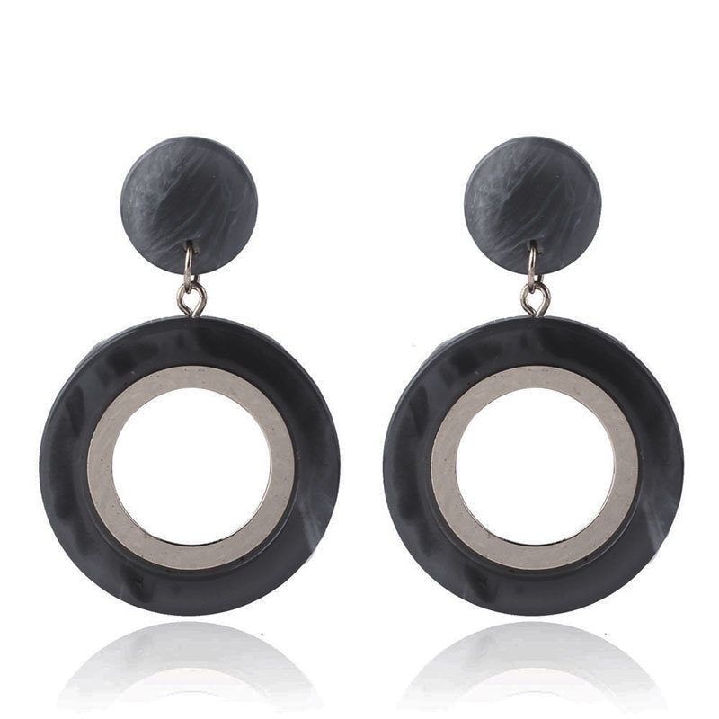 Alloy Fashion Animal earring  (black) NHNMD4655-black