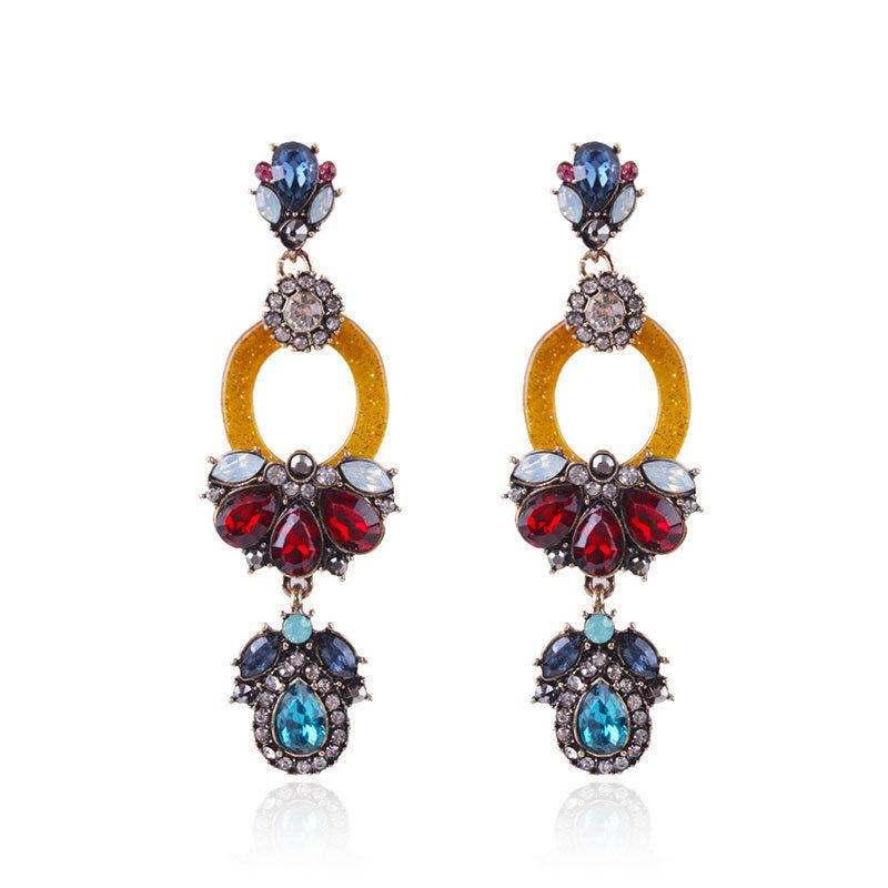 Alloy Fashion Geometric earring  color NHNMD4662color