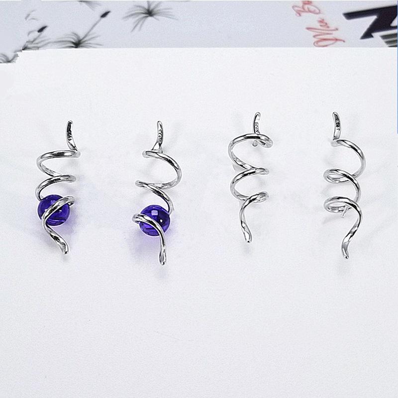 Alloy Korea Tassel earring  (E1071) NHDY1005-E1071