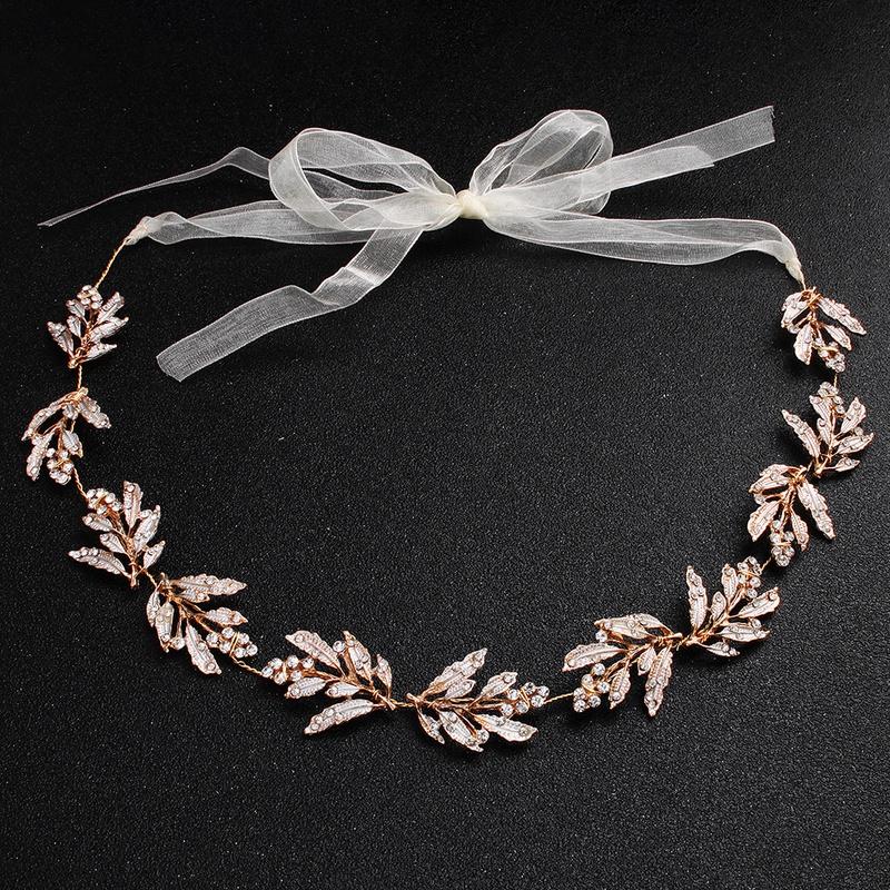 Alloy Fashion Geometric Bridal jewelry  (Rose alloy) NHHS0506-Rose-alloy