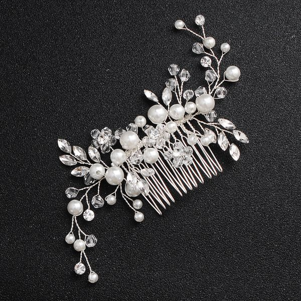Beads Fashion Flowers Bridal jewelry  (Alloy) NHHS0510-Alloy