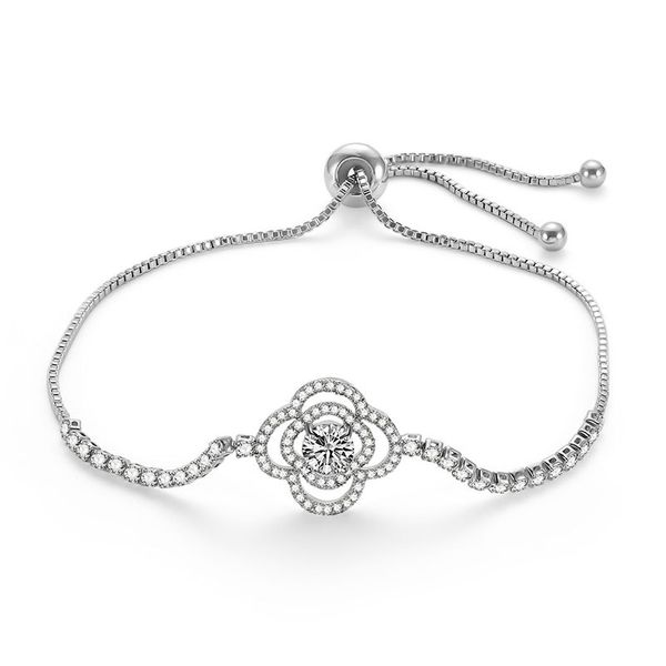 Alloy Simple Flowers bracelet  (66186028) NHLP1145-66186028