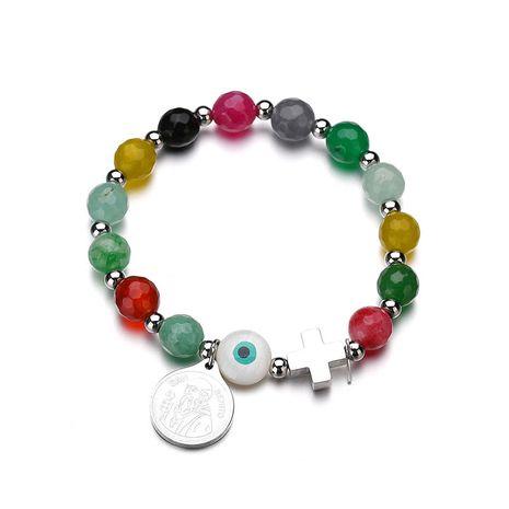 Titanium&Stainless Steel Punk Geometric bracelet  (color) NHHF0935-color's discount tags