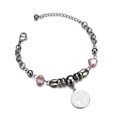 Titanium&Stainless Steel Punk Geometric bracelet  (Steel color) NHHF0947-Steel-color's discount tags