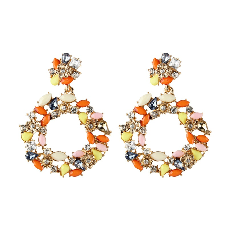 Alloy Simple  earring  (Color one) NHJQ10633-Color-one