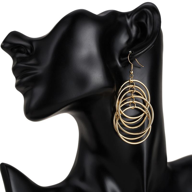 Alloy Fashion Geometric earring  (Alloy) NHJE1834-Alloy