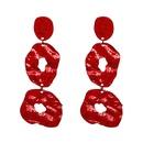 Alloy Fashion Geometric earring  red NHJJ5055red