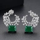 Alloy Korea Geometric earring  platinum NHTM0321platinum