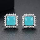 Alloy Simple Geometric earring  platinum NHTM0323platinum