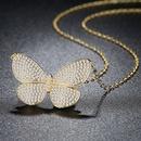Alloy Korea Bows necklace  platinum NHTM0334platinum