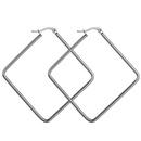 TitaniumStainless Steel Fashion Geometric earring  40mm NHHF095840mm
