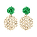 Alloy Simple  earring  yellow NHJQ10621yellow