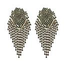 Alloy Fashion  earring  green NHJQ10626green