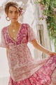 Cotton Fashion  skirt  (Pink-S) NHAM4703-Pink-S