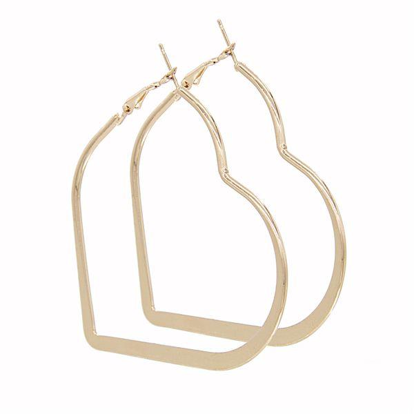Alloy Fashion Sweetheart earring  (Alloy) NHSD0113-Alloy