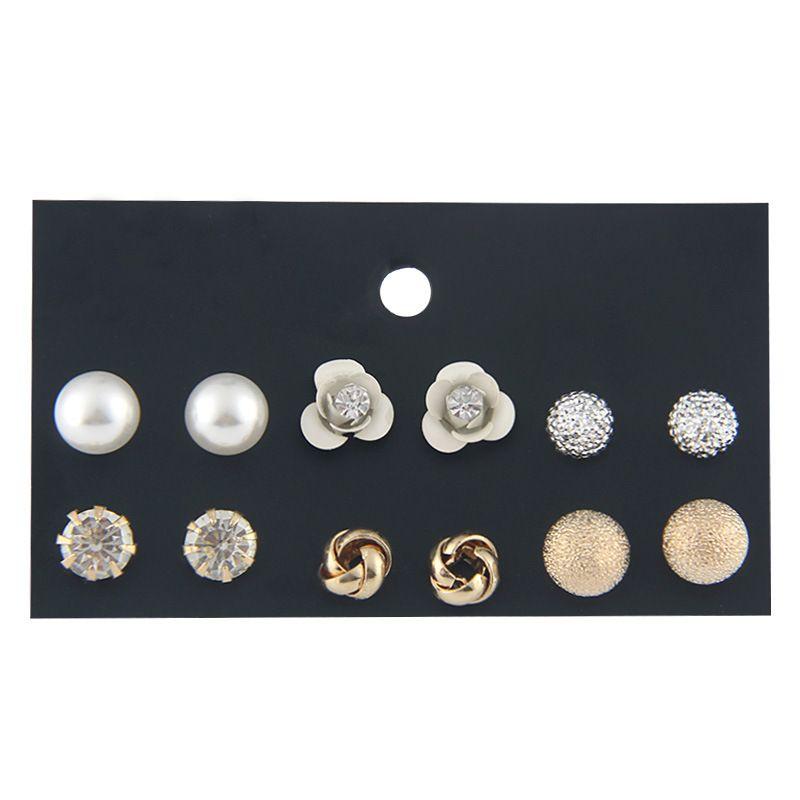 Alloy Fashion Flowers earring  (E0169-1) NHSD0304-E0169-1