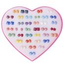 Plastic Fashion Geometric earring  WE00571 NHSD0341WE00571