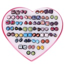 Plastic Fashion Geometric earring  color NHSD0359color