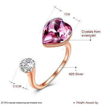 Photo Color  Sterling alloy Ring NHKL13184-A
