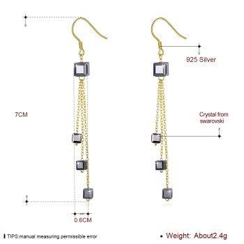 Alloy  Drop Earrings NHKL13201