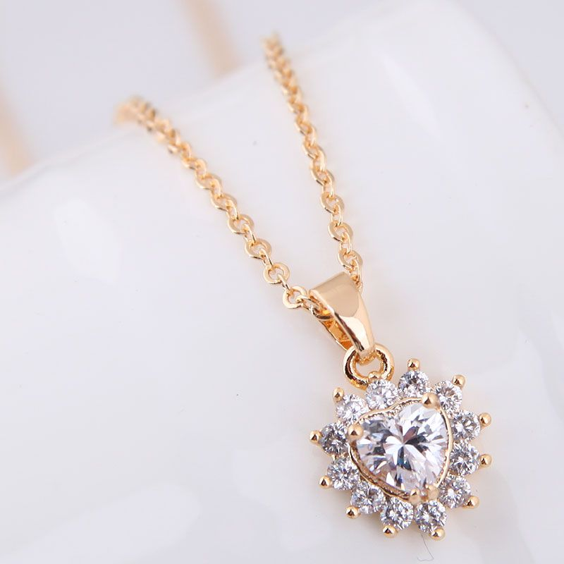 Zircon Korea necklace NHNSC12667