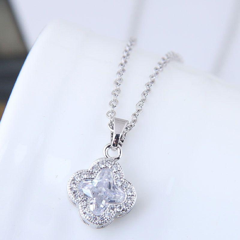 Zircon Korea necklace NHNSC12692