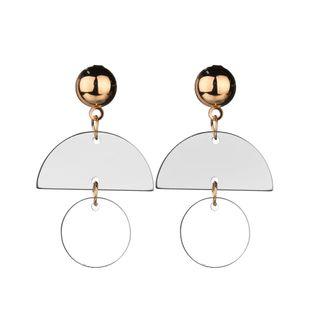 Acrylic Korea Geometric earring  (Alloy) NHBQ1558-Alloy's discount tags