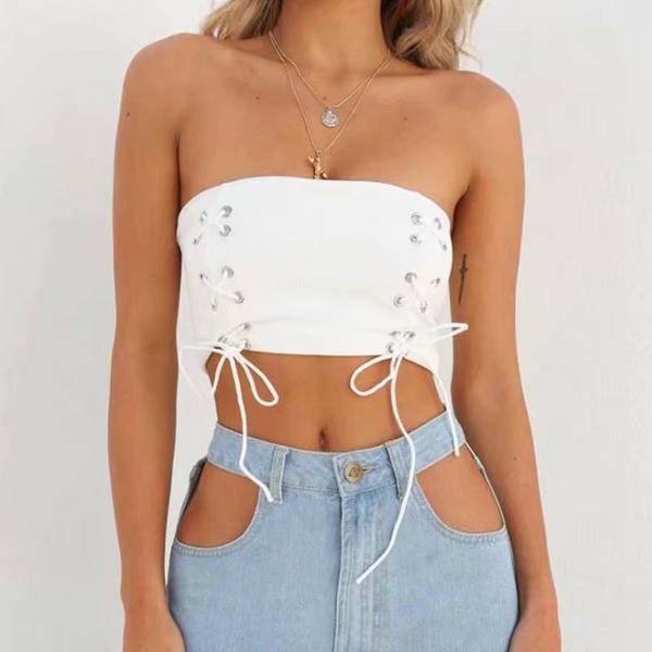 Cotton Fashion  underwear  (White-S) NHAM4883-White-S