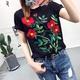 Cotton Fashion  T-shirt  (Black-s) NHAM4790-Black-s