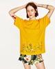 Cotton Fashion  T-shirt  (Black-s) NHAM4793-Black-s