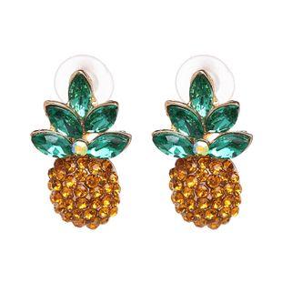 Imitated crystal&CZ Fashion Geometric earring  (51159) NHJJ5087-51159's discount tags