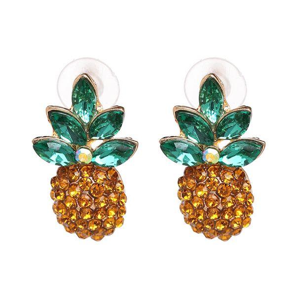 Imitated crystal&CZ Fashion Geometric earring  (51159) NHJJ5087-51159