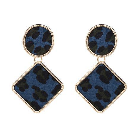 Alloy Fashion Geometric earring  (blue) NHJJ5089-blue's discount tags