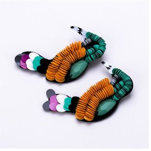 Alloy Fashion Animal earring  (Photo Color) NHBQ1702-Photo-Color's discount tags