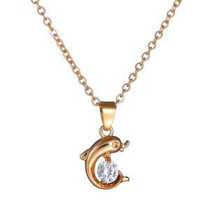 Alloy Korea Animal necklace  (Alloy) NHBQ1707-Alloy's discount tags