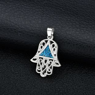 Alloy Fashion Geometric necklace  (Pendant) NHBQ1713-Pendant's discount tags