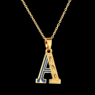 Alloy Fashion Geometric necklace  (A) NHBQ1716-A's discount tags