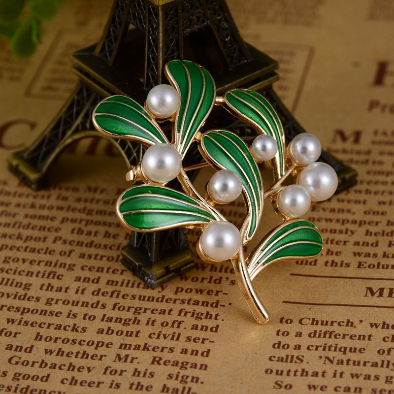Alloy Vintage Geometric brooch  (Photo Color) NHBQ1723-Photo-Color