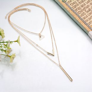 Alloy Fashion Geometric necklace  (Photo Color) NHBQ1766-Photo-Color's discount tags
