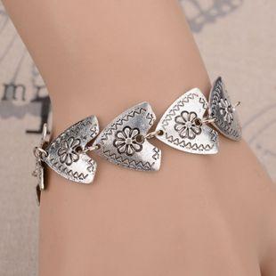 Alloy Simple Flowers bracelet  (Photo Color) NHBQ1770-Photo-Color's discount tags