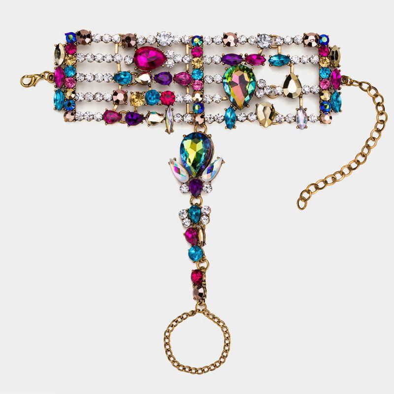 Alloy Fashion Geometric bracelet  (Alloy color) NHYT1024-Alloy-color
